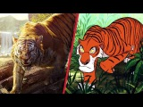 The Jungle Book Trailer Gets Animated Disney Side by Side by Oh My Disney