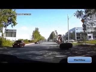 Новая подборка аварии и ДТП с фурами 2015 №5
