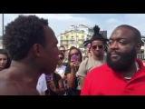 Street Rapper Impresses Rick Ross Rap Live