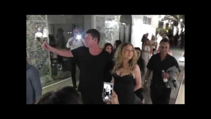 Gossip: Mariah Carey passeggiata notturna a Capri » Freewka.com - Смотреть онлайн в хорощем качестве