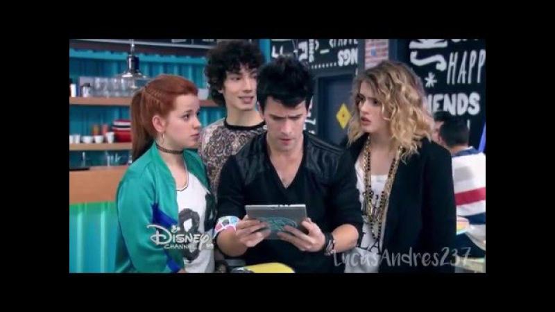 Soy Luna Jim y Yam le rompen la tablet a Pedro Capitulo 2
