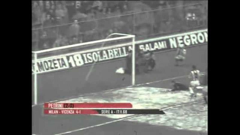 Videoteca Gol Milan 1968-69