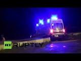 Турция: Бомба автомобиль на военной полицейском участке травмирует 20.