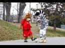 J & Berni, che sfida al parco! - A walk in the park with J and Berni