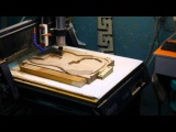 wood  guitar making by cnc router p.3