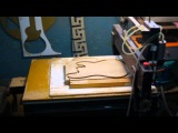 wood  guitar making by cnc router p.1