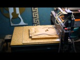 wood  guitar making by cnc router p.2