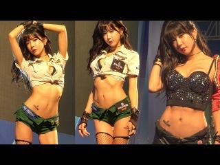 [4K/직캠] 허윤미 레전드 직캠!!! Sexy model_Huh yun mi_Sony with 월드오브탱크_World of Tanks