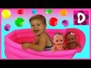 ✿ Огромные Шарики ORBEEZ в Ванночке Сюрпризы Каша ОРБИЗ Giant ORBEEZ unboxing surprise