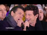 Marc Lavoine et Patrick Bruel chantent