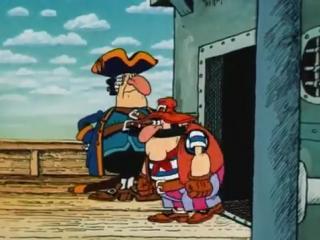 Остров сокровищ: Карта капитана Флинта. 1 серия (Давид Черкасский,1988)