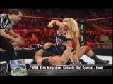 Beth Phoenix vs Santino Marella (7_14_08) ( HQ)