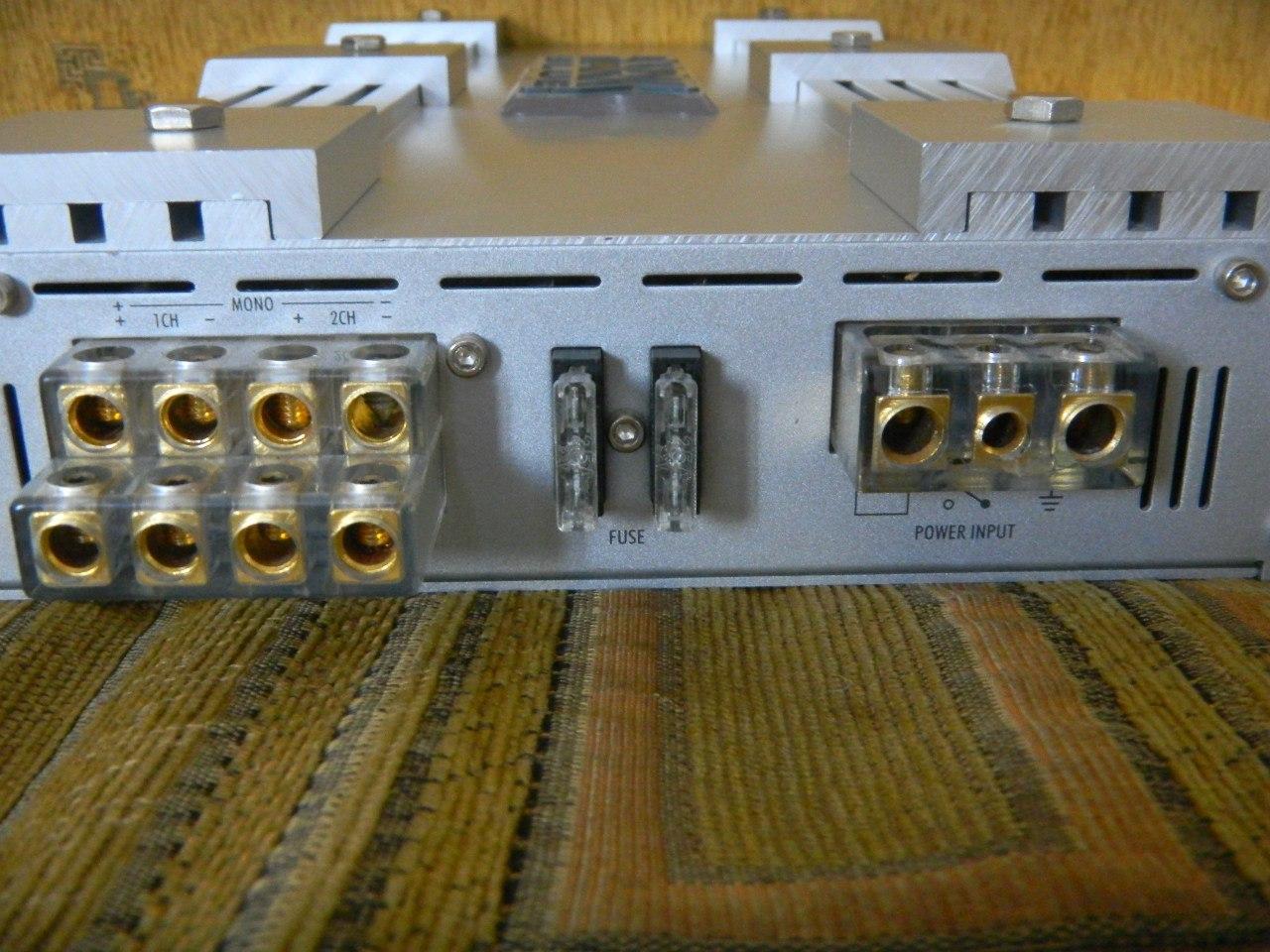 схема подключения конденсатора усилителя