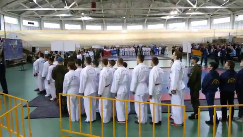 Открытие первенства России по АРБ . 2016