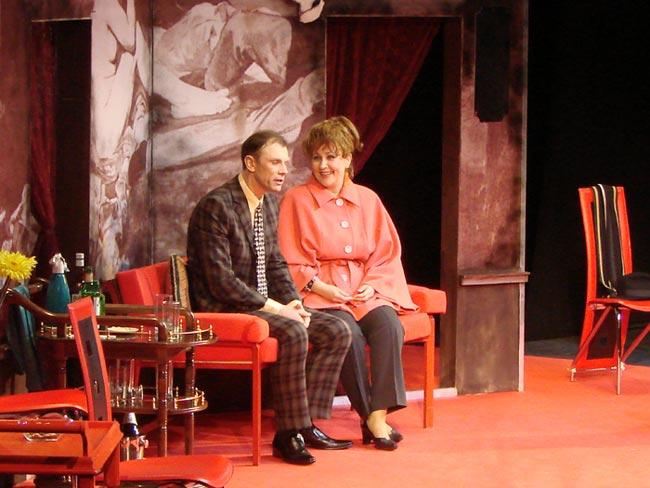 молодежный театр комедия сыграем в дружную семью или пижама на шестерых