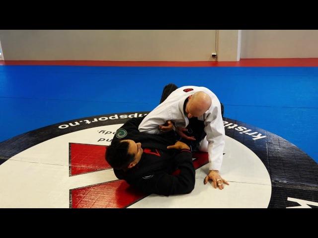 Roy Dean Jiu Jitsu Overhook to Armdrag The Norway Seminar