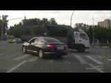Лучшая подборка приколов на дорогах  ДТП с дальнобойщиками   Июнь 2015