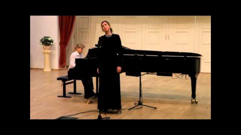София Ефимова (меццо-сопрано). Романс Даргомыжского Я все еще его люблю