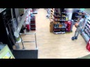 Man rides into Co-op on a hoverboard and steals Lucozade