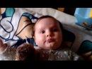 Rosemary Sophia - 3,5 месяца - двукратная чемпионка по пусканию пузырей 😂