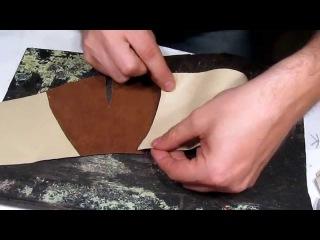 Мк 09 Мокасины на колодке Собираем подкладку