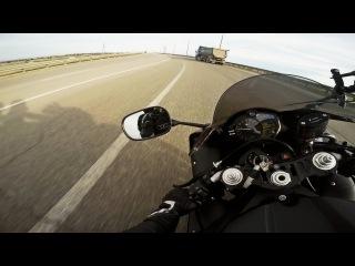 300 км на суперспорт байке. Первый мини-дальняк. Ощущения