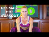 HIIT Workout No Equipment - HIIT Cardio Workout with Focus on Abs and Buttocks