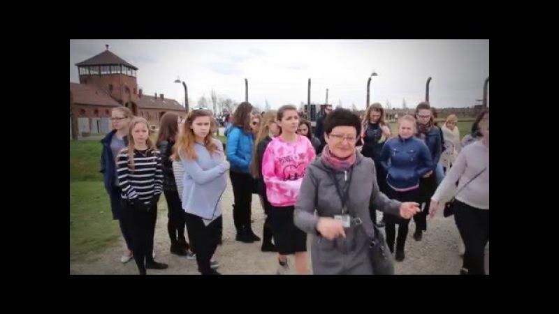 Поездка девочек школы Бейс-Агарон в Польшу, март 2016