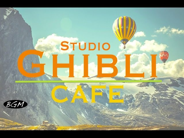 GhibliJazzCafe Music - Relaxing Jazz Bossa Nova Music - Studio Ghibli Cover