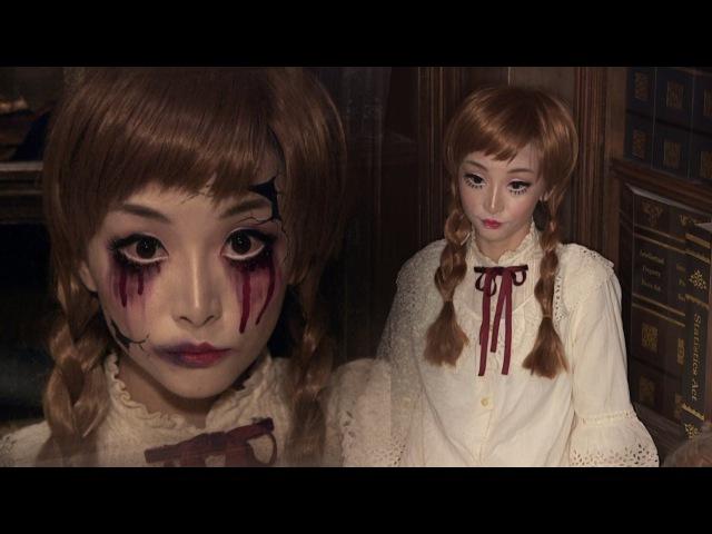 Vintage Doll Broken Doll ✞ Halloween Makeup   ハロウィン ✞ ドールメイク