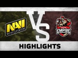 Highlights from Na`Vi vs Team Empire @ DreamLeague S5