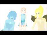 MMD x SU  Blue Pearl, Pearl and Yellow Pearl  Everybody