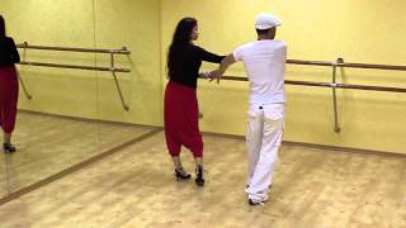 Cubanito Сальса видео — Урок сальса №20 «El Dos»