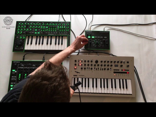 Christopher Kah - Session IV with Minilogue TR-8 VT3 System-1