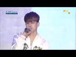 160217 iKON (아이콘) - MY TYPE (취향저격) + DUMB & DUMBER (덤앤더머) @ 5th Gaon Chart K-POP Awards [1080p]