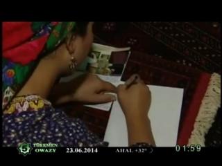 Turkmen music clip
