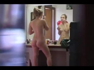 Man spying over his girlfriend when she masturbates xxx  real sex video