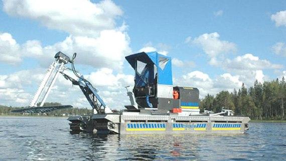 Купить оборудование за уходом водоемов и прибрежных зон
