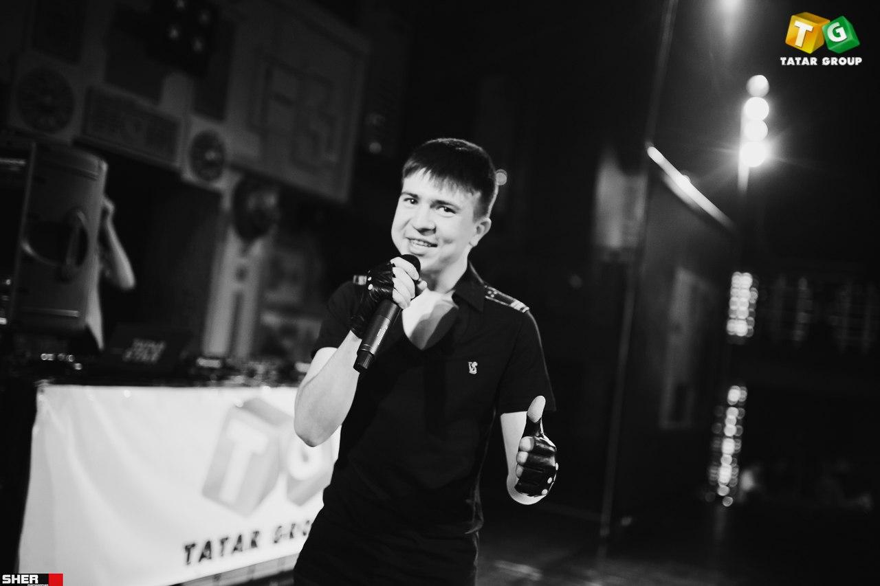 Ильдар Насыров выступает на Tatat party. 7.03.16. Ульяновск. Ленар Сафиев