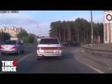 Новая подборка с регистратора Аварии,ДТП,приколы на дорогах 2015
