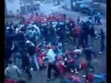 Футбольные приколы  Драка фанатов Футбол