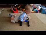 Приколы с детьми (импровизация - акробатика)