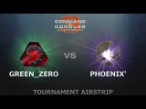 C&ampC3 Kane's Wrath 1v1 - Green_ZERO (Nod) vs. iPhx_tK (ST)