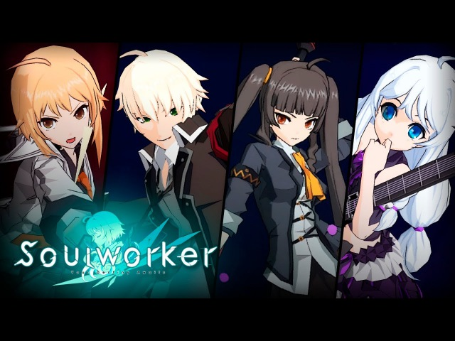 Soul Worker Online (Anime Action MMORPG): Classes and Character Creation (F2P Japan Stress Test/CBT)