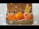 Новогоднее мыло МАНДАРИН 3D❄ Мастер-класс ❄ Мыловарение ❄ Soap making