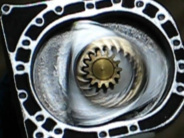 Роторный мотор. Ротор