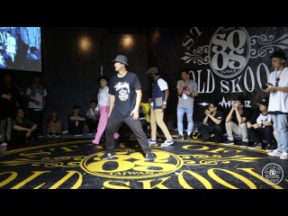 Judge Demo - A-Tai, Hana, Hurrikane | 20160416 Style of old skool Taiwan Vol.4