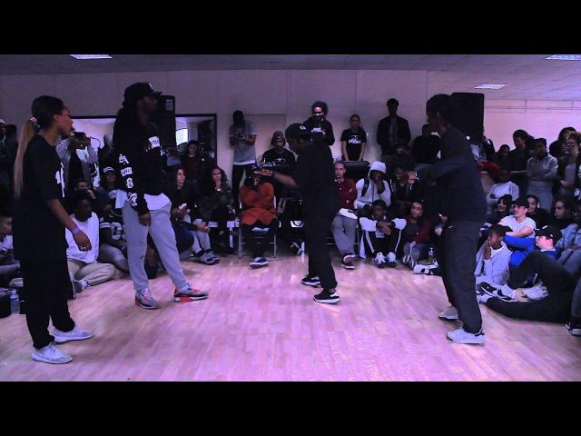 Battle RBH IV huitième Kanon Anissa GhettoStyle VS Dykens sarcellites Spider 6'TD