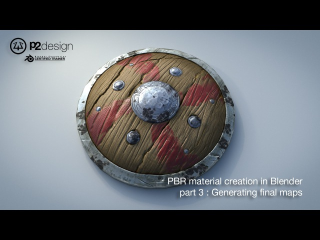 PBR MATERIAL CREATION IN BLENDER PART03 EXPORTING ALL MAP FOR PBR RENDERING