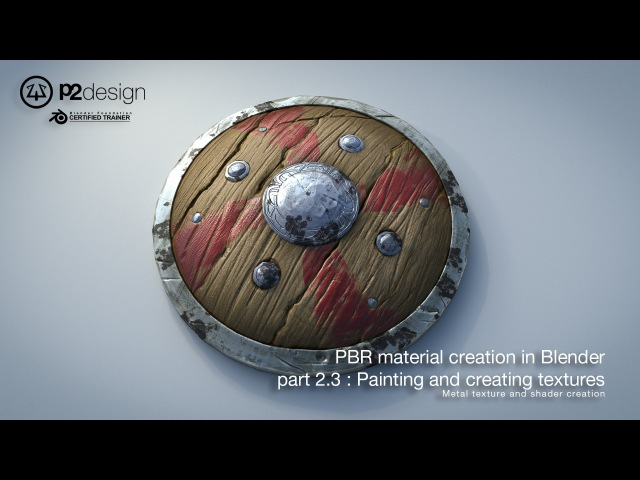 PBR MATERIAL CREATION IN BLENDER PART02 03 METAL TEXTURE AND SHADING